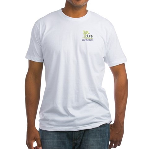 - BVI Map  Fitted T-Shirt by CafePress