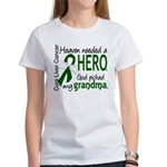 Liver Cancer HeavenNeededHero1 Women's T-Shirt