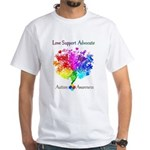 Autism Spectrum Tree White T-Shirt