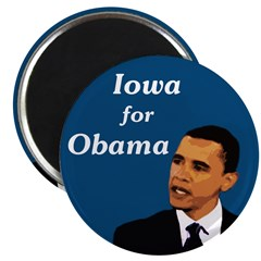 Iowa for Barack Obama political magnet