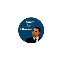 iowa for Obama Campaign Pin