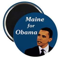 Maine for Barack Obama Magnet