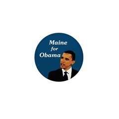 Maine for Obama campaign pin