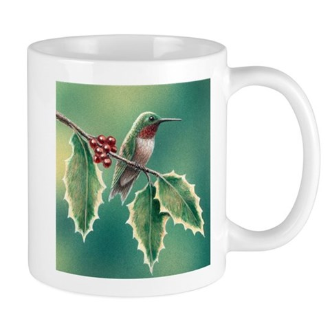 Hollybird  Hummingbird Mug by CafePress