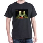 black happy kwanzaa T-Shirt