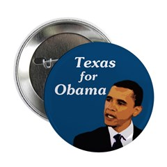 Texas for Obama Campaign Button