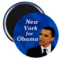 New York for Obama Collectors Magnet