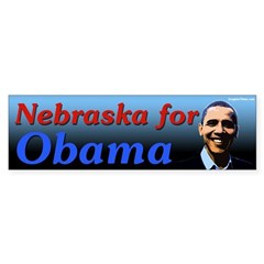 Nebraska for Obama bumper sticker