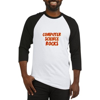 Computer Science~Rocks Baseball Jersey