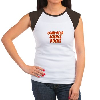 Computer Science~Rocks Women's Cap Sleeve T-Shirt
