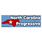 North Carolina Progressive Sticker