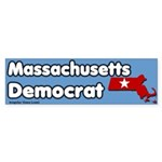 Massachusetts Democrat Bumper Sticker