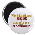Wife & Bloodhound Missing