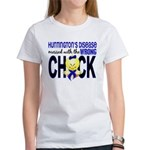 Huntington's MessedWithWrongChick1 Women's T-Shirt