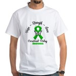 Cerebral Palsy White T-Shirt