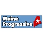 Maine Progressive Bumper Sticker