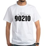 Shhh... I'm Binge Watching 90210 White T-Shirt