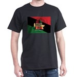 diagonal stripe Happy Kwanzaa T-Shirt