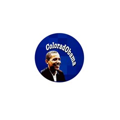 ColoradObama Campaign Pin