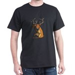 Funny Deer Playing Banjo T-Shirt
