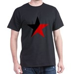 Black and Red Star Anarcho-Syndicalism Ana T-Shirt