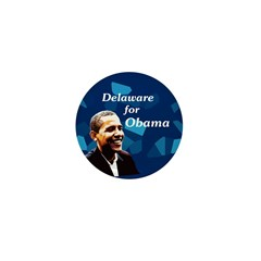 Delaware for Obama Mini Button