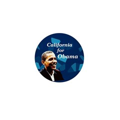 California for Obama campaign pin