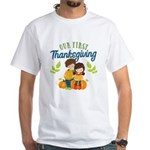 Our 1st Thanksgiving White T-Shirt