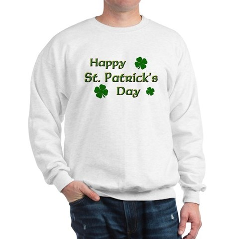 Product Image of Happy St. Patrick's Day Sweatshirt