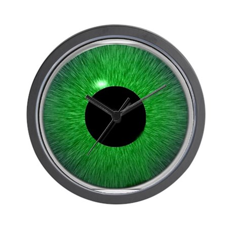 You're Being Watched Wall Clock