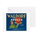 Waldorf Apples Greeting Card
