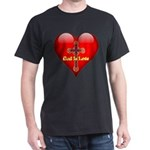 God Is Love Heart and Cross T-Shirt