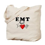If you are looking for personalized EMT tote bags, t-shirts and gifts, check out our new bold EMT FOR LIFE themed graphic!