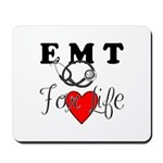 EMT FOR LIFE Mousepad, desk accessories and USB flash drives.