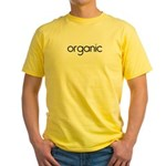 organic Yellow T-Shirt