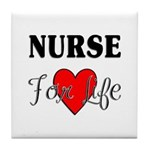 Nurse For Life Tile Coaster