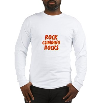Rock Climbing Rocks Long Sleeve T-Shirt