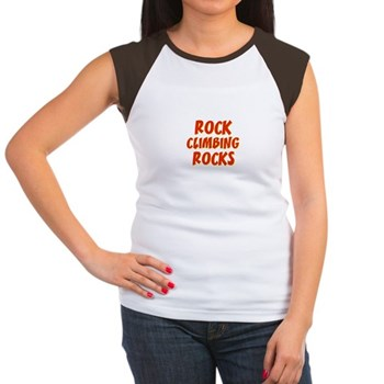 Rock Climbing Rocks Women's Cap Sleeve T-Shirt