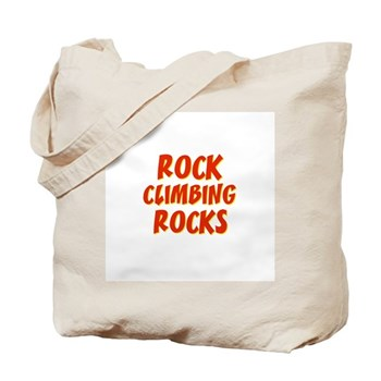Rock Climbing Rocks Tote Bag
