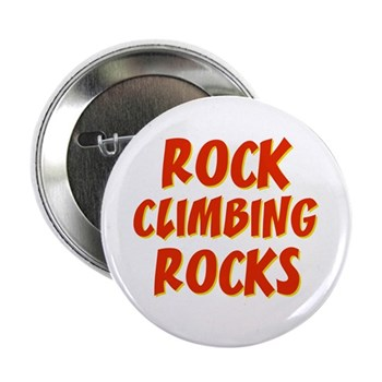 Rock Climbing Rocks Button