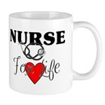 Mugs from Bonfire Designs are ceramic, available in 3 sizes and have custom full color graphics all around the mugs! Click to browse our LPN and RN gift mugs here.