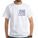 Prostate Cancer MeansWorldToMe2 White T-Shirt