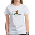 Welsh Terrier Playtime! Women's T-Shirt