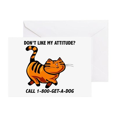 1-800-GET-A-DOG Greeting Card