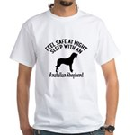 Sleep With Anatolian Shepherd Dog De White T-Shirt