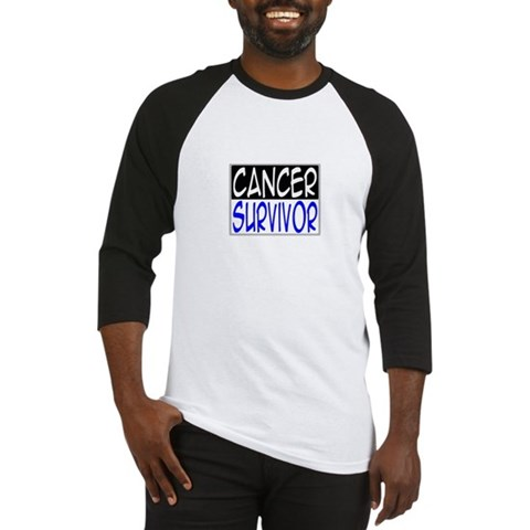 'Cancer Survivor'  Breast cancer Baseball Jersey by CafePress