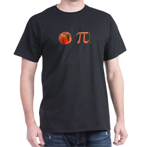 Product Image of Peach Pi Dark T-Shirt