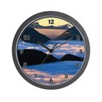Personalized Clocks Wall Clock with scenic theme!  Wall clocks for home and office!  Decorate with our new and unique flower, panda, ladybug, firefighter, police, EMT and chocolate gift themes!  Click to see more!