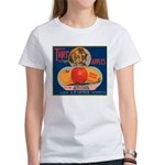 Tiger Fruit Crate Label Women's T-Shirt