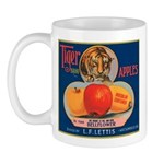 Tiger Fruit Crate Label Mug